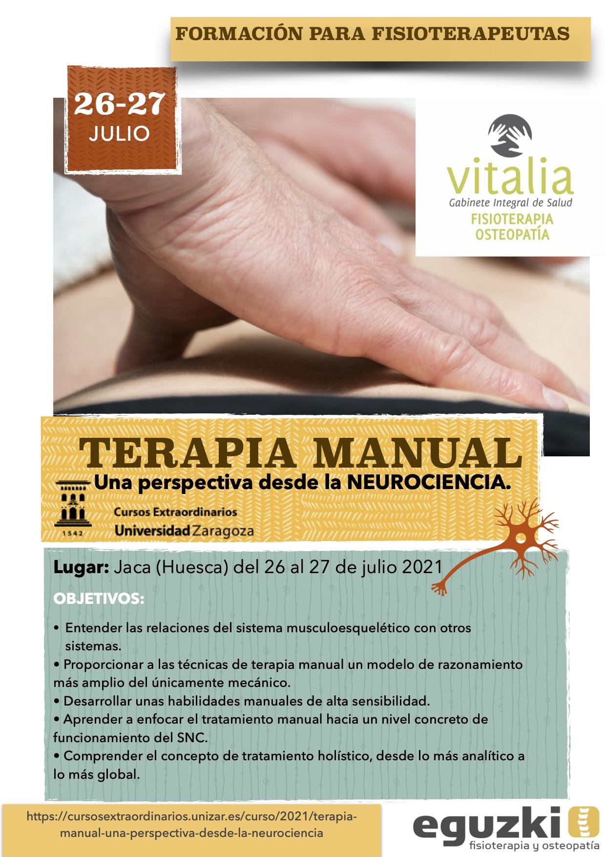 formacion terapia manual neuro